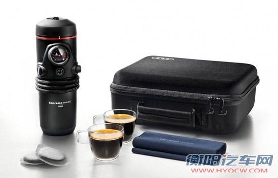 窥探推出礼盒奥迪车载便携式咖啡机市场光盘图片