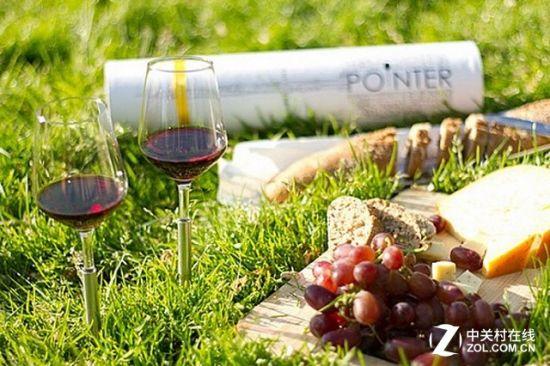 野餐必备新式红酒杯 绝对不会轻易碰洒