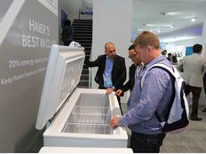 海尔推比欧洲最节能标准节省20%的冷柜
