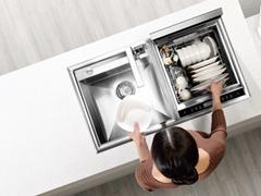 跨界集成中国智造 方太一体式洗碗机