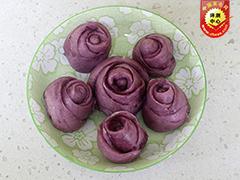 厨味第六期:玫瑰紫薯馒头打造健康饮食