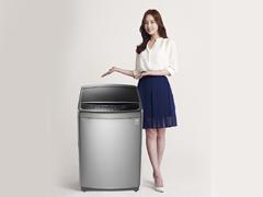 洁净内桶健康洗涤 LG 钢净波轮洗衣机评测