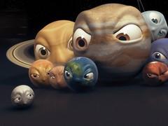 冥王星近照亮相 看着星星点评那些黑科技