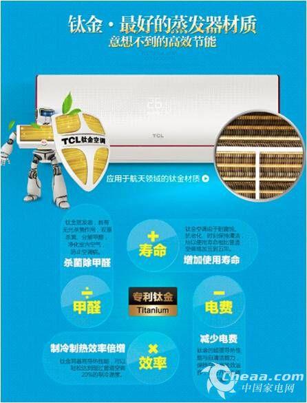 tcl智能空调 优性能高颜值赢得消费者认可
