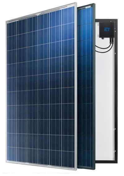 中盛光电:带微型逆变器的太阳能电池板