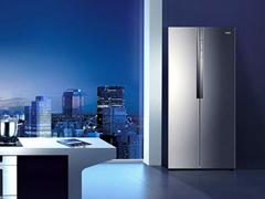 90°开门设计 海尔幻影骑士对开门冰箱评测