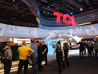 IFA2015:TCL推彩色冰洗 瞄準年輕市場