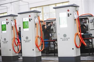首钢老厂再利用 全国最大光伏充电站动工