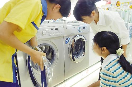 白电市场大雪纷飞 洗衣机一枝独秀