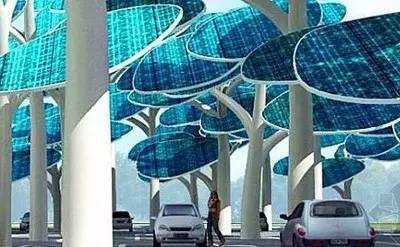 太阳能充电站 未来电动汽车充电首选