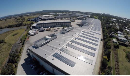 晶科为澳洲最大私有屋顶项目提供高效组件