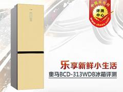乐享新鲜生活 奥马BCD-313WDB冰箱评测