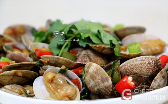厨味第十三期:海鲜大排档之辣炒花蛤