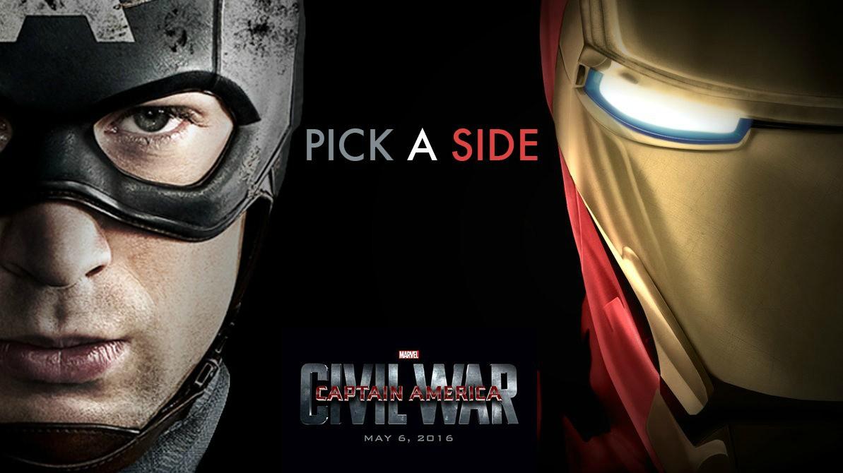 《美国队长3》爆新剧照 超级英雄上演内战