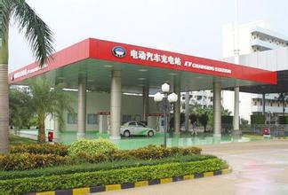 [江西]中国首座光伏屋顶电动汽车充电站建成