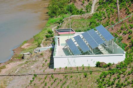 [四川]南充首座太阳能提灌站正式投用