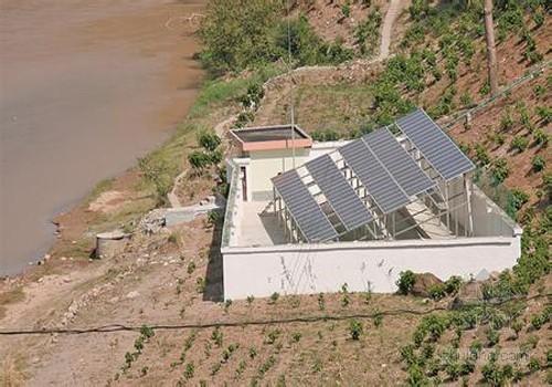 [南充]南充首个太阳能提灌站落户嘉陵