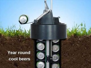 不放厨房放地下 eCool啤酒冷却器有创意