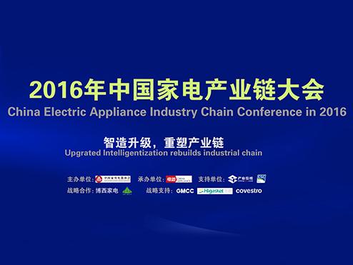 2016中国家电产业链大会——暨中国家电艾普兰核芯奖颁奖仪式