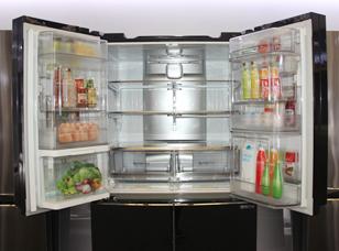 让现有空间翻番 LG双门中门冰箱出大招