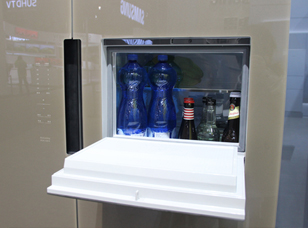 超乎想象的环保 西门子新品冰箱现身AWE2016