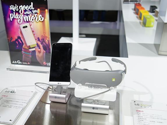 黑科技全家桶 LG G5手机和配件亮相AWE2016
