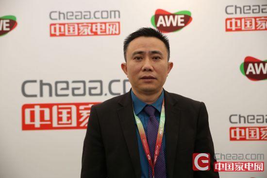海伦宝国内总监聂铁平在接受中国u乐平台记者采访