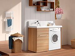 安装切莫对付事 洗衣机入户摆放有讲究
