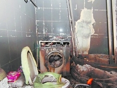 洗衣机买了1年多 无故自燃险酿成大祸