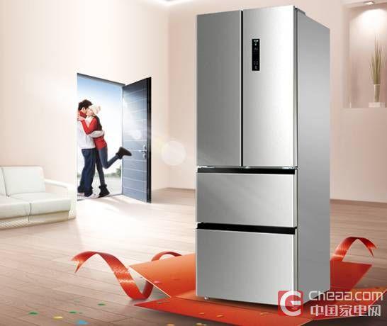 你的厨房新神器 美菱316升变频冰箱上市