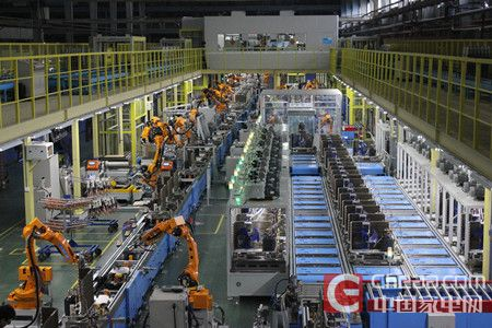 美的空调广州智能工厂全景图