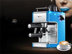 高压萃取至醇味道 小熊咖啡机热销中