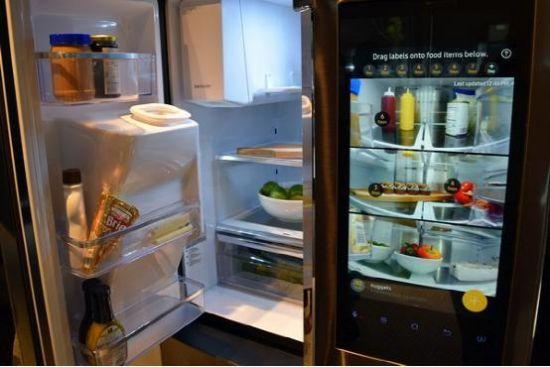 冰箱真的需要电视那么大的触摸屏吗??