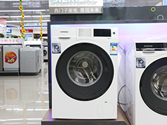 自由定时全触控 西门子滚筒洗衣机热销
