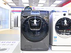 碟窗设计洗烘一体 三星滚筒洗衣机21900元