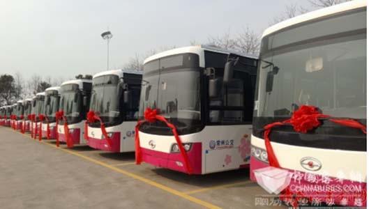 [常州]全国首批太阳能公交车常州投运
