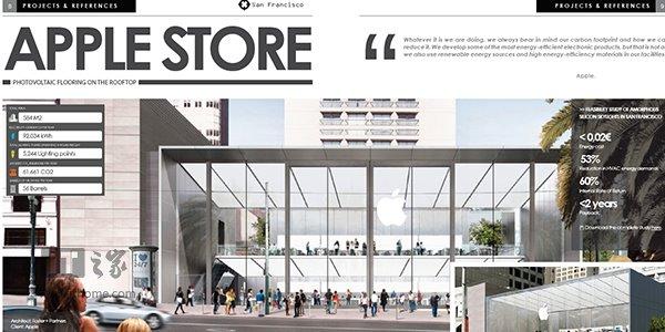 苹果直营店未来将采用太阳能玻璃地板