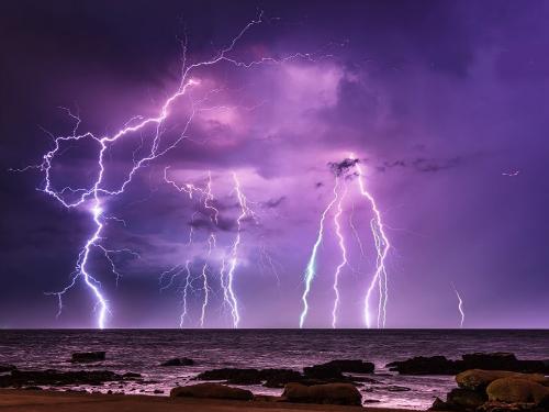 自然奇观 令人着迷令人畏惧——闪电