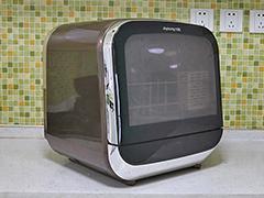 专为中国家庭设计 九阳X5台式洗碗机评测