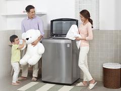 洗护俱佳无污染 LG钢净波轮洗衣机评测