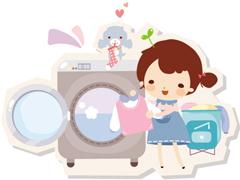 内筒污染莫忽视 看小编清洁自家洗衣机