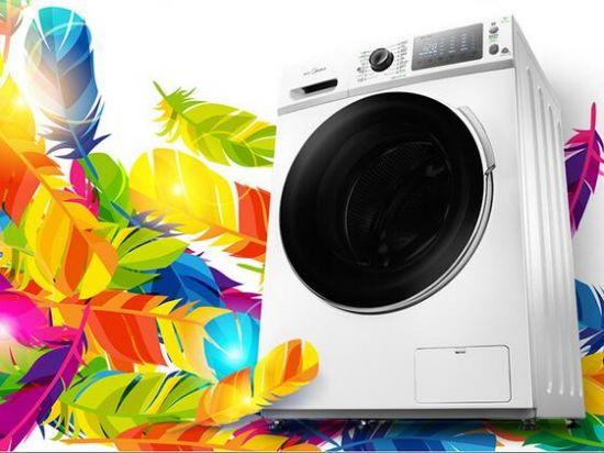 冷凝式烘干智能感控 美的洗衣机超值预约