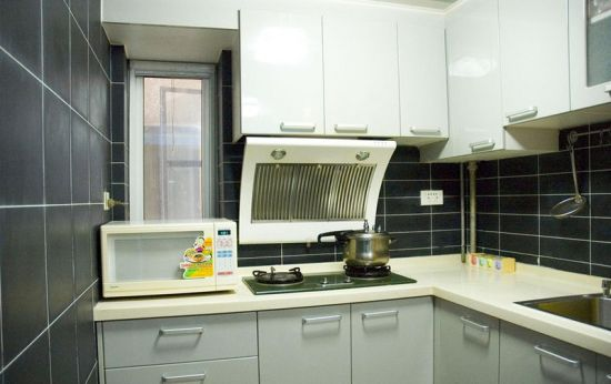 建厨灶台的步骤图片