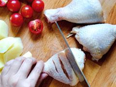天热懒得开火,用烤箱烤个美味鸡腿