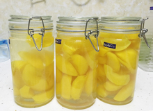 对防腐剂说不 这样吃到健康的黄桃罐头