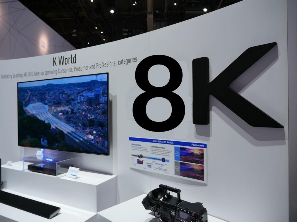 日本欲收复电视失地 索尼松下结成8K联盟