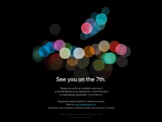 苹果正式发出邀请函 9月7日新iPhone亮相