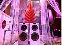 卡萨帝洗护生态圈首次应用于双子云裳洗衣机