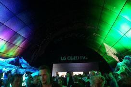 黑的极致美的惊艳 LG OLED电视亮相IFA