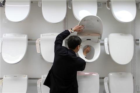 松下智能马桶盖的生产基地在中国